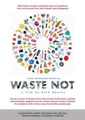 Waste Not DVD Cover